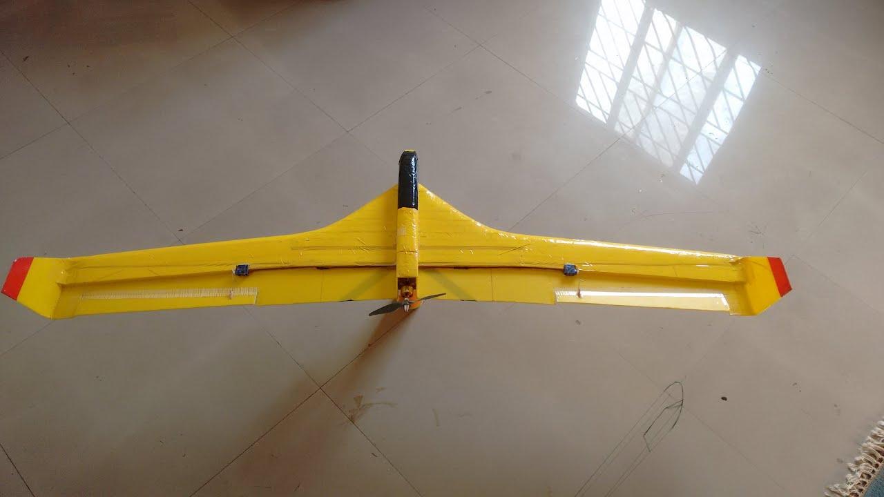 60 blended wing kfm 2 glider maiden flights03012016 youtube altavistaventures Choice Image
