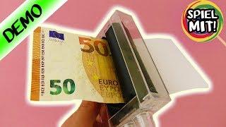 Zaubertrick | Geld Druck Maschine - Aus Papier echte Geldscheine machen | Ist das Geld gefälscht?