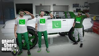 PAKISTAN INDEPENDENCE DAY 14 AUGUST CELEBRATION | GTA 5 ONLINE GAMEPLAY
