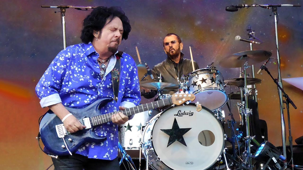 Steve Lukather - Rosanna [with Ringo's All-Starr Band - Live in Hamburg -  11-06-2018] - YouTube