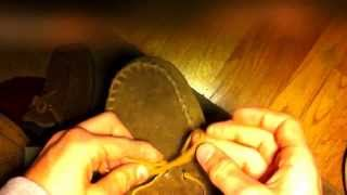 How to tie a Moccasin the righ…