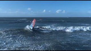 IJmuiden at it's finest (windsurfing + Phantom 4)