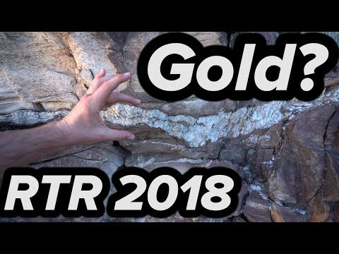 RTR 2018 - GOLD? QUARTZ VEIN DISCOVERY + ABANDONED MINES!