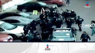 En moto y con cuchillos asaltaron en Venustiano Carranza | Noticias con Francisco Zea