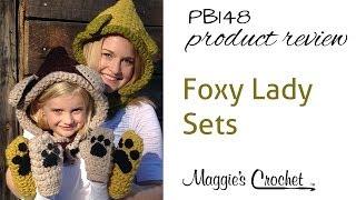 Foxy Lady Sets Crochet Pattern Product Review PB148