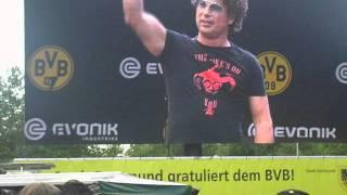 Meisterfeier in Dortmund 15.05.11 Atze Schröder