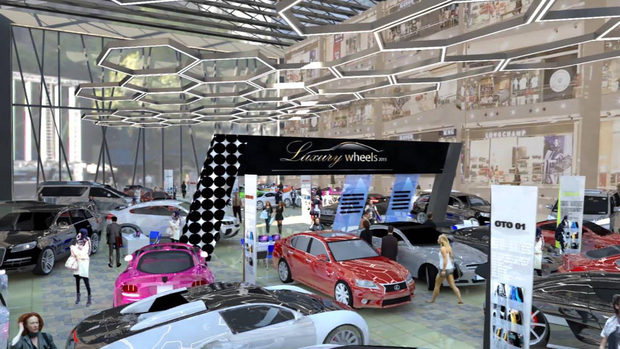 Concept design car show at KL tropicana, by interior my