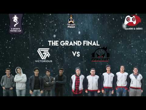 Gamers and Geeks E-sports Winter Cup (Tunisia) - Finals