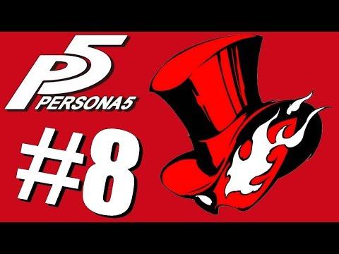 Exploration du chateau de Kamoshida - Persona 5 #8