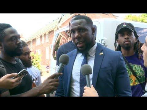 Charlottesville Vice Mayor Wes Bellamy: Ku Klux Clowns Won't Stop Us