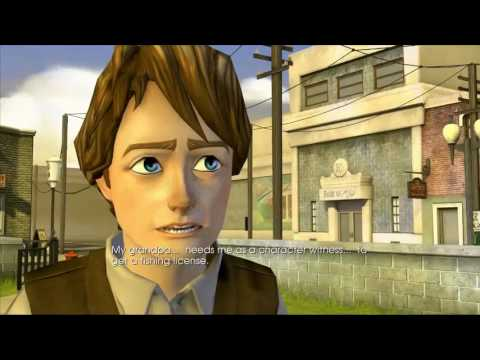 Back To The Future The Game Episode 2 - Get Tannen Part 1 HD Gameplay - Save Grandpa