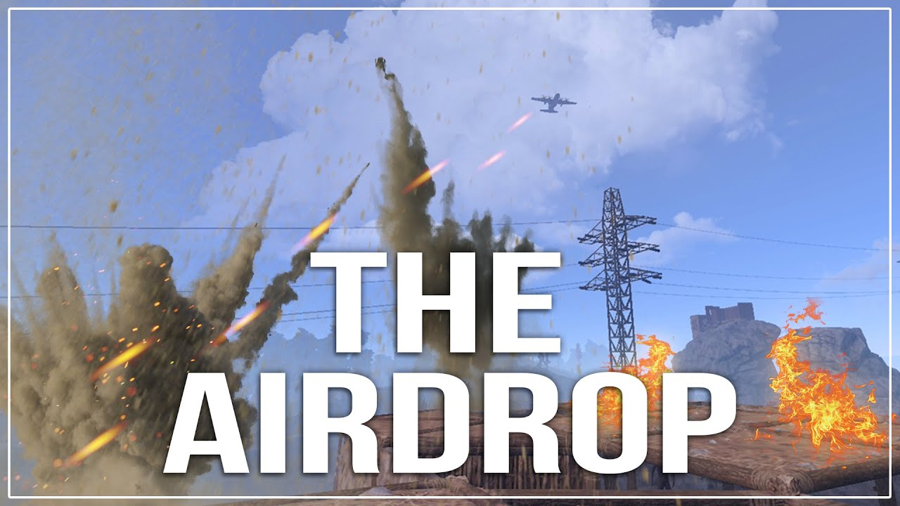 Easiest Way To Obtain An Airdrop: The Airdrop! (Best Moments / Funny Parts)