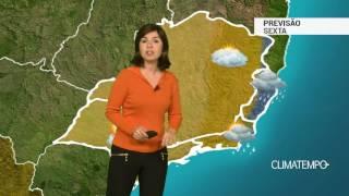 Previsão Sudeste – Risco de chuva forte no ES