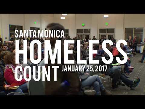 Santa Monica's Annual Homeless Count, January 25, 2017