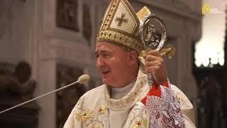 bp Andrzej Jeż - inauguracja etapu diecezjalnego Synodu Biskupów [17.10.2021]