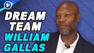 Le onze de rêve de William Gallas