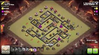 New TH8 War Base BOMB TOWER 2017 - Anti 3 Star + Replays Proof   Clash of Clans