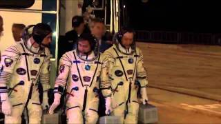 Expedition 35/36 Launch Activities Highlights
