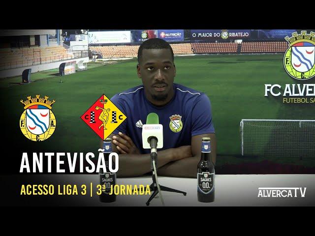 FC Alverca - Condeixa | Antevisão