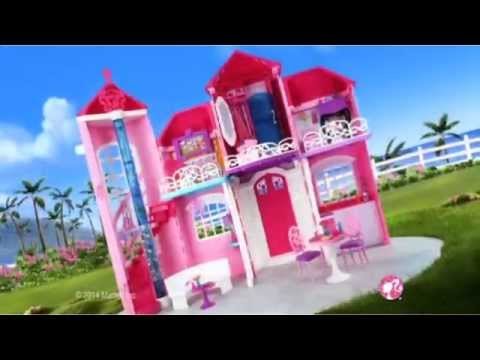 maison de poup e barbie malibu house fr youtube. Black Bedroom Furniture Sets. Home Design Ideas