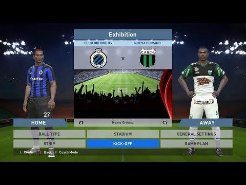 Club Brugge KV vs Nueva Chicago, Jan Breydel Stadion, PES 2016, PRO EVOLUTION SOCCER 2016