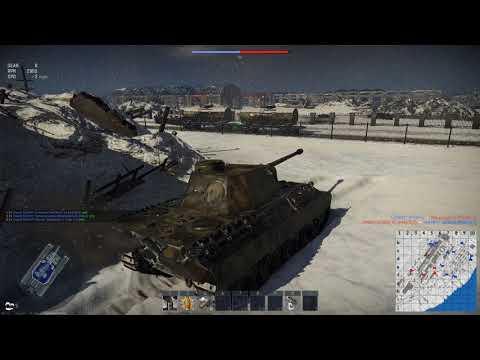 War Thunder: Panther X2 Kill