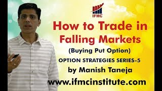 Trading Techniques ll How to trade in Falling Markets ? ll Options Strategies Series-5 ll