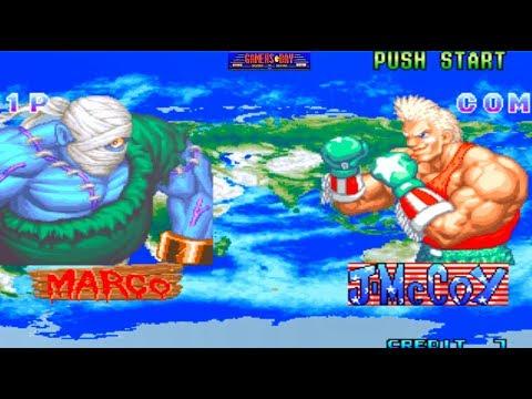 Dan-Ku-Ga - Classic Arcade Fighting Game (Taito 1994)
