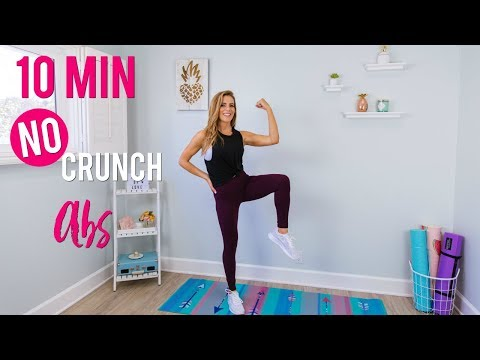 Get Lean: 10 Min No Crunch Abs