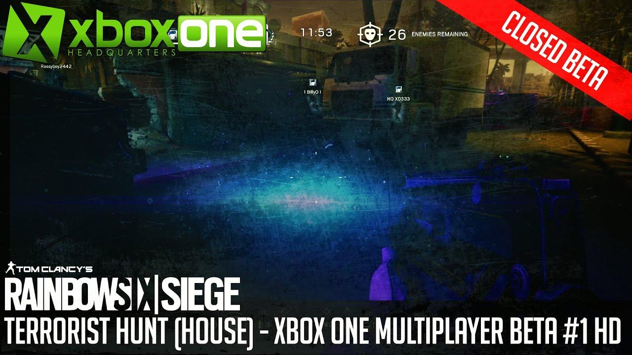rainbow six siege gameplay terrorist hunt multiplayer. Black Bedroom Furniture Sets. Home Design Ideas