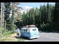 Sunday Drive: Mt. Rainier National Park, 62 VW Bus, Van life, RV Living