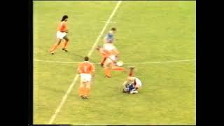 Prijateljska utakmica 1990. - Jugoslavija - Nizozemska - TV Zagreb