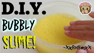 d i y bubbly slime   how to make super crispy slime perfect slime for instagram