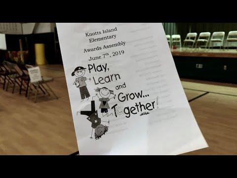 Knotts Island Elementary School  End of School Year Awards Ceremony 2019