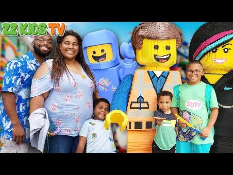 ZZ Family Travels To All Legolands! (Vacation Fun VLOG)