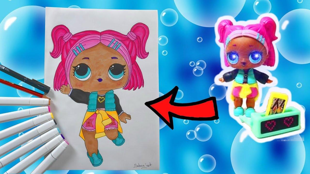 Poupées Lol Coloriage VRQT Confetti Pop