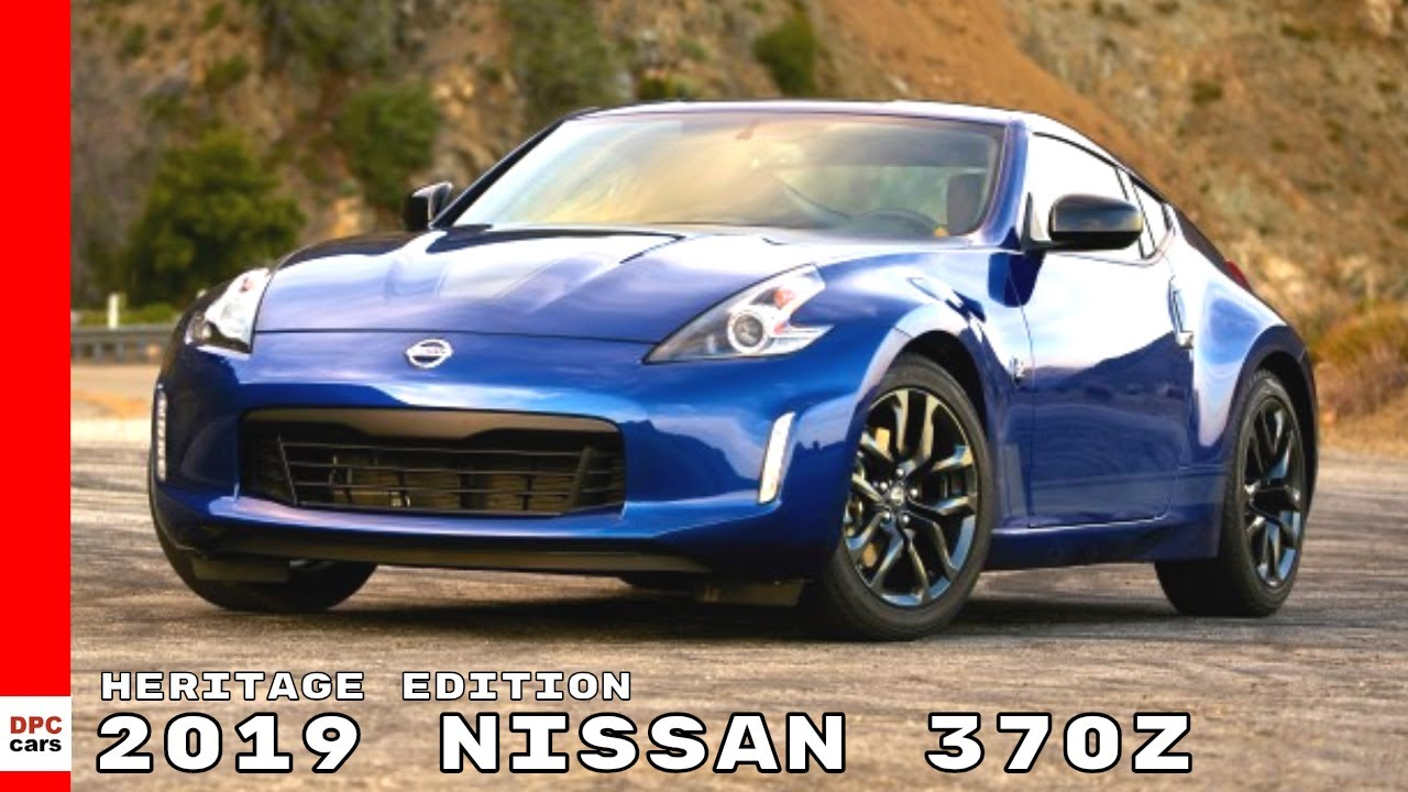2019 Nissan 370z Heritage Edition Video Dpccars