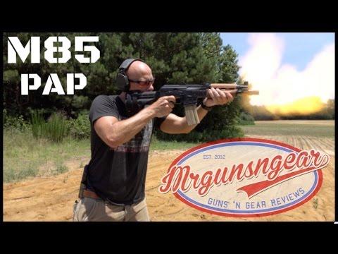 Yugo Zastava M85NP PAP AK Pistol That Takes AR-15 Mags (HD)