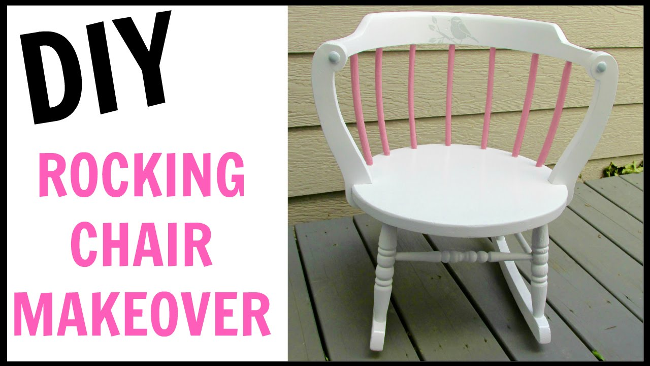 Little Girl Rocking Chair Gavelston Side End Table Garbage To Gorgeous Episode 12 Makeover Diy Craft Klatch How