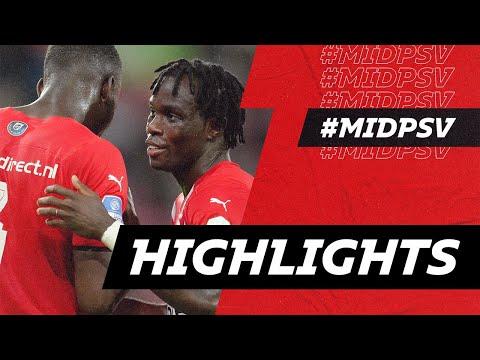 Midtjylland PSV Goals And Highlights