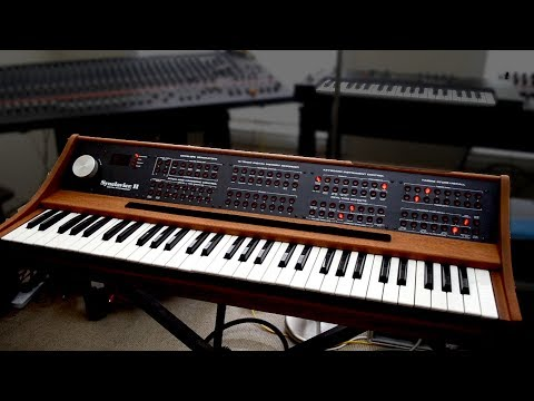 Synclavier II - Clip #1 - Harmonic Additive Synthesis
