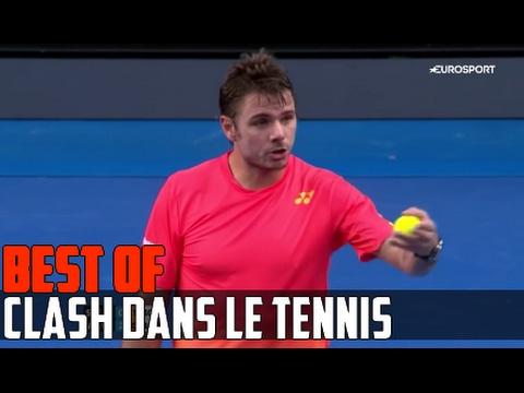 Quand les joueurs de tennis se clashent