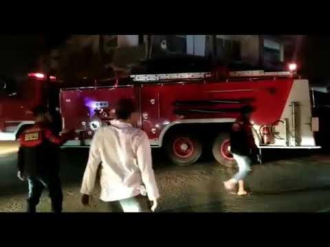 Kebakaran Asrama Polisi Dewantara Aceh Utara