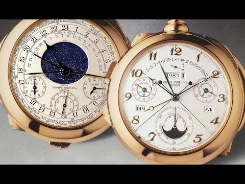 Patek philippe 26 million $ dollar timepiece-Calibre 89
