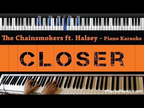 The Chainsmokers feat. Halsey - Closer - Piano...