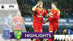 Ex-Paderborner schiesst Norwich zum Sieg | FC Everton - Norwich City 0:2 | Highlights