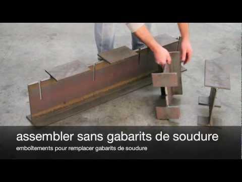 structures métalliques en poutres d'acier poutres ipe