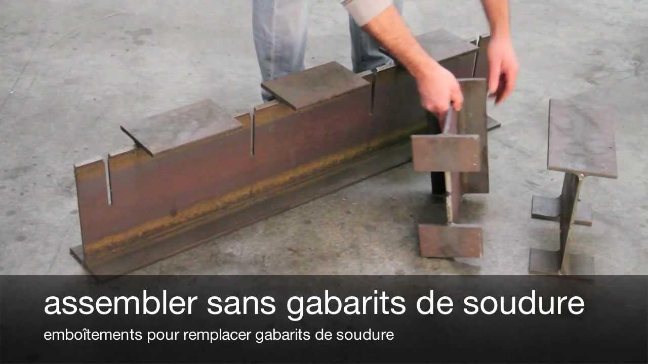 Structures Métalliques En Poutres Du0027acier Poutres Ipe   YouTube