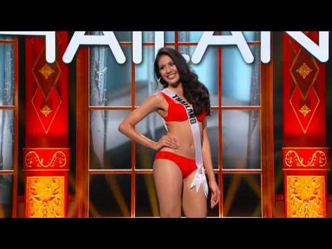 Miss Thailand Universe 2013 - Preliminary Competition - Swimsuit