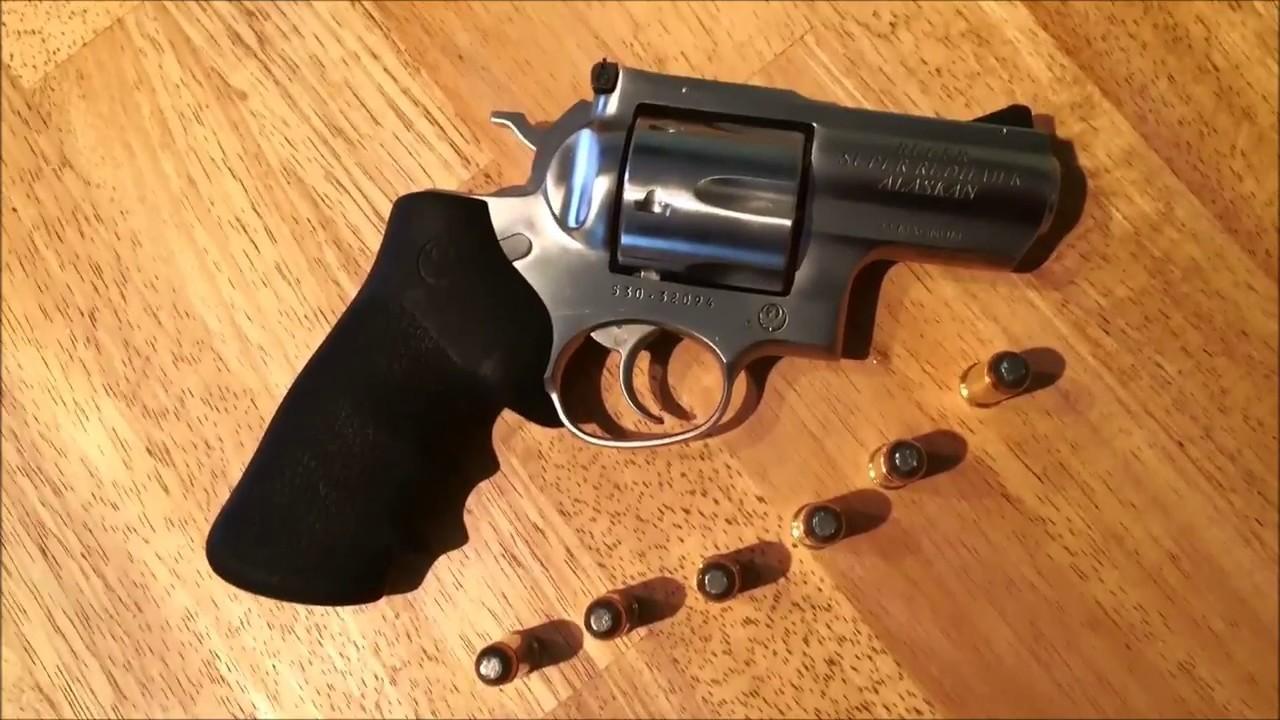 Ruger Super Redhawk Alaskan 44 Magnum Comparison